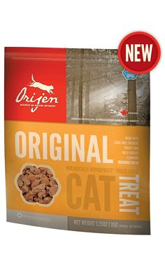 Original Freeze Dried Cat Treat. Formula matched to our ORIJEN Cat & Kitten food.