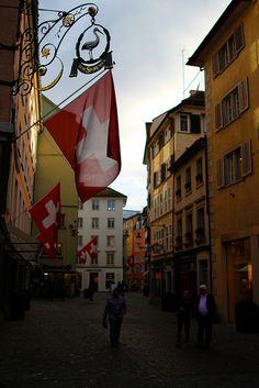 svizzera, ilovezurich, suiss, callejon, niederdorf