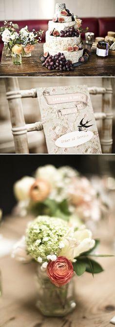 Real Claire Pettibone bride Abby's London wedding | Photo: Keoma Zec