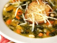 White Bean, Orange Squash and Kale Soup (Culinate!)