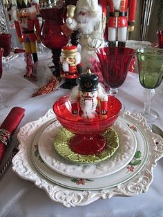 Nutcracker Sweets Tablescape