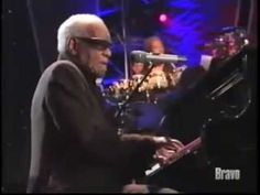 Ray Charles & Van Morrison - Crazy Love - Live
