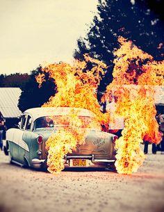 Flames. Voodoo Demon. Bad-ass.