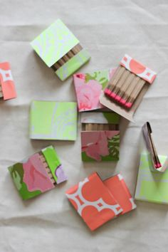 A Fabulous Fete: easy update // matchbook diy
