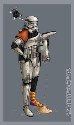 Sand Trooper - Star Wars