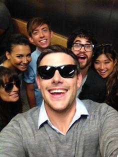 Lea Michele, Naya Rivera, Kevin McHale, Darren Criss, Jenna Ushkowitz & Cory Monteith - Comic-Con 2012
