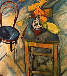 Mikhail Larionov - Bouquet aux Fleurs Jaunes, 1907
