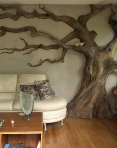 tree in house.