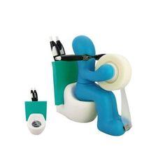 Funny Desk Accessory Supply Holder