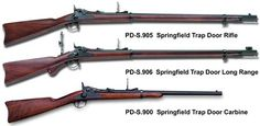 The War Between the States brought the Trapdoor rifles into their own. Deadly accurate and seldom flawed in performance, they were highly thought of as weapons worthy of the soldiers who used them.