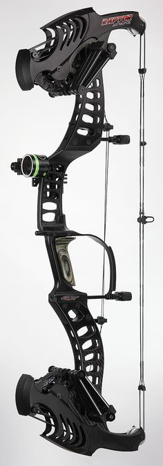 "The ""Bow Flex"" Compound Bow; STS Raptor, Rubber power bands, shoots Arrows and Steel Shots."