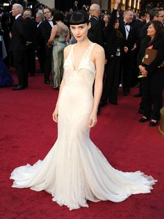 fashion, givenchy, givenchi, oscar dresses, red carpets, rooney mara, gown, academy awards, haute couture
