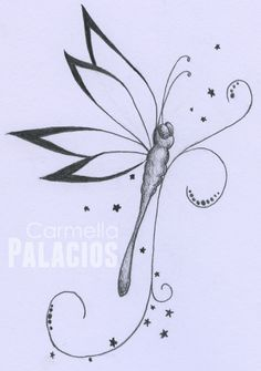 Dragonfly tattoo design by zzccarmen.deviantart.com on @deviantART