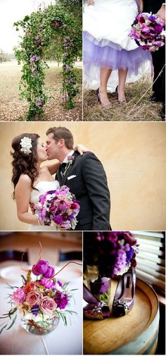 Purple Wedding Details!