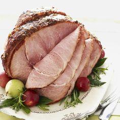 Marmalade-Glazed Ham #christmas #holiday #recipes