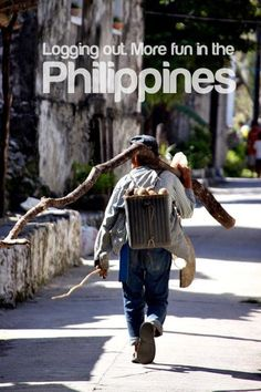 Logging out. More fun in the Philippines