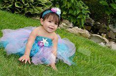 Little Mermaid Tutu Dress and Headband