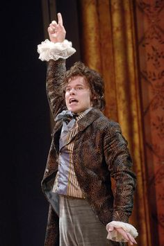 Randy Harrison in Amadeus, 2006 at The Fitzpatrick Main Stage