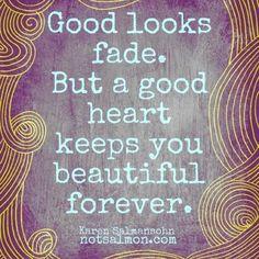 Good looks fade....