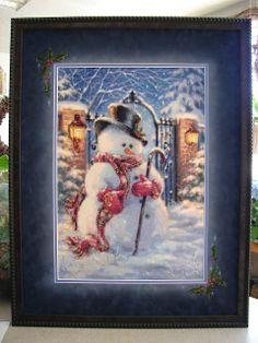 framed by Jill Rensel