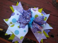 Great stocking stuffer or gift!! Dress up that little girl's present with a bow!!