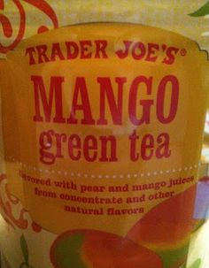What's Good at Trader Joe's?: Trader Joe's Mango Green Tea