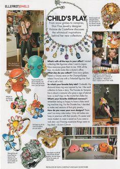 jewelry designer for Dior - Victoire de Castellane