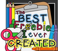 The Best Freebie I've Ever Created Linky!!! TONS of links to some of the best (and most usable) FREEBIES! school, teach blog, primari chalkboard, teacher