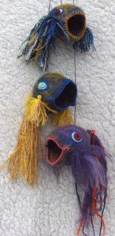 fav craft, felt fineri, crochet thing, wet felt, craft idea