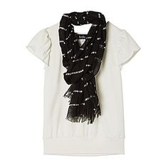 jcp | by&by Girl Scarf Top - Girls 7-16