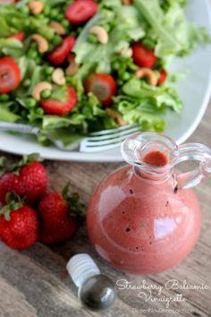 Low-Calorie Strawberry Balsamic Vinaigrette on MyRecipeMagic.com
