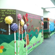 The Lorax, a look down our hall :)   Dana- start thinking about what you want to tell Ellen!!!!!