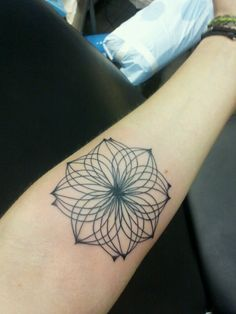 #ornamental #flower #tattoo