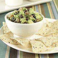 black beans, mexican food, vegan black, guacamole, enjoy food, bean guacamol, guacamol total, yummi food, easi black