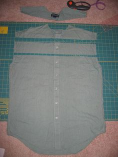 Great website on how to transform mens shirts into women's fashion!