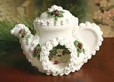 panoramic sugar eggs | sugar panoramic teapot - o- wow!