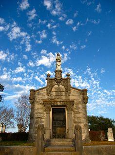 Learned Family Mausoleum I, #Natchez City #Cemetery, #Natchez, #Mississippi  www.visitnatchez.org