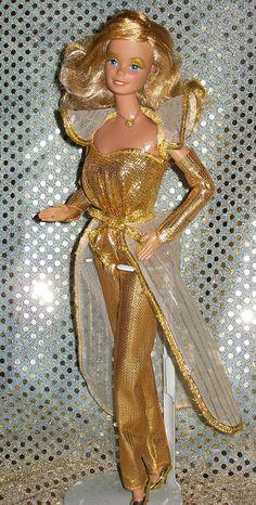 Oh Wow... I had this one! dream barbi, barbi collect, vintag barbi, dreams, rememb, childhood memori, barbi doll, 1981 golden, golden dream