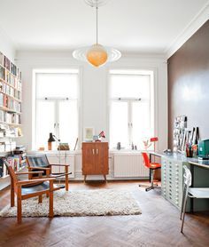 studio, interior, office spaces, hous, desk