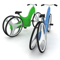 Gavin Smith has come up with a new bicycle design that will help people with disabilities to ride the bicycle independently