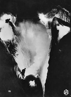 Still from Der Heilige Berg, by Arnold Fanck, 1926. Courtesy Matthias Fanck.