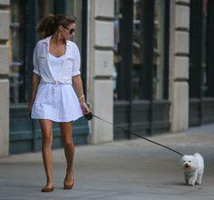 La tenue immaculée d'Olivia Palermo http://www.vogue.fr/mode/look-du-jour/articles/la-tenue-immaculee-d-olivia-palermo/15694