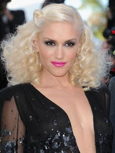 The Full-On Glamazon  Gwen Stefani isn't known for holding back. Here, she really went for it with big curls, inky eyes and bold lips. Create a toned-down version of her eye-lip combo with black liquid liner and a lip color like L'Oréal Colour Riche Lipcolor in Sea Fleur.    Read more: Celebrity Hair and Makeup Pictures from Cannes 2011 - Pictures from Cannes Film Festival - Cosmopolitan