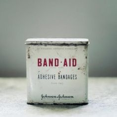 Tin Band Aid tins