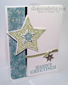 Beautiful and Bright and Stars Framelits - part of the August Big Shot Promotion at Stampin' Up!