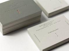 creative business cards, card showcas, busi card