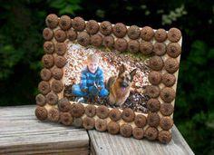 Acorn Frame Craft: Fall Crafts for Kids - Kaboose.com