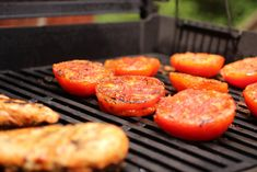Try Tomatoes on the Grill --> http://www.hgtvgardens.com/recipes/grilled-tomatoes-are-sizzling-good-eating?soc=pinterest