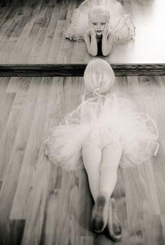 reflection of a Ballerina