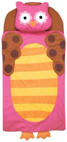 Stephen Joseph Nap Mat - Owl, pink - Best Price